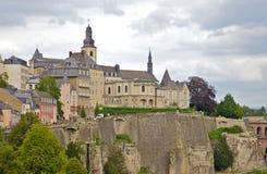 Het Kasteel van Luxemburg Royalty-vrije Stock Foto's