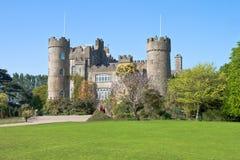 Het Kasteel van Malahide in Dublin, Ierland. Royalty-vrije Stock Afbeeldingen