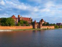 Het Kasteel van Malbork Royalty-vrije Stock Foto