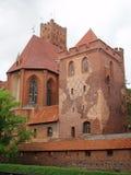 Het Kasteel van Malbork, Polen Royalty-vrije Stock Fotografie