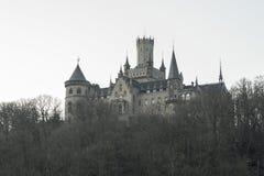 Het kasteel van Marienburg Stock Fotografie