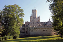 Het kasteel van Marienburg Stock Afbeelding