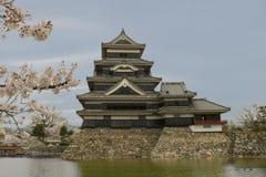 Het kasteel van Matsumoto Stock Foto