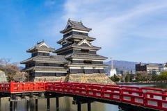 Het kasteel van Matsumoto Royalty-vrije Stock Fotografie