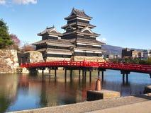 Het Kasteel van Matsumoto in de Prefectuur van Nagano, Japan royalty-vrije stock foto