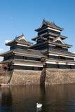 Het kasteel van Matsumoto, Japan Stock Afbeeldingen