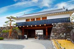 Het Kasteel van Matsumoto in Japan stock fotografie