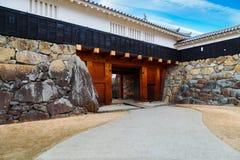 Het Kasteel van Matsumoto in Japan stock foto