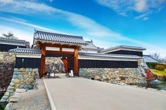 Het Kasteel van Matsumoto in Japan stock foto's