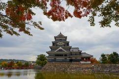 Het Kasteel van Matsumoto in Matsumoto, Royalty-vrije Stock Foto