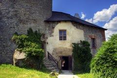 Het kasteel van Medival Stock Foto's