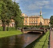 Het kasteel van Mihaylovskiy Royalty-vrije Stock Fotografie