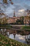 Het kasteel van Mikhailovsky Stock Foto's