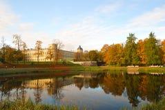 Het Kasteel van Mikhailovsky, St. Petersburg stock afbeeldingen
