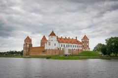 Het Kasteel van Mir, Wit-Rusland Royalty-vrije Stock Afbeeldingen