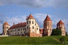 Het Kasteel van Mir, Wit-Rusland Stock Fotografie