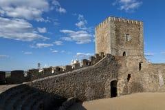 Het kasteel van Monsaraz in Alentejo, Portugal Royalty-vrije Stock Afbeeldingen