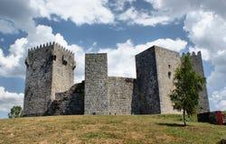 Het kasteel van Montalegre Royalty-vrije Stock Afbeelding
