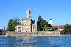 Het Kasteel van Montfort, het Meer van Konstanz royalty-vrije stock foto's