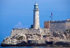Het Kasteel van Morro, Havana, Cuba Stock Foto's