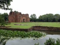 Het kasteel van Muxloe van Kirby stock foto's