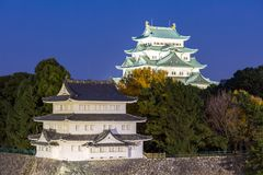 Het Kasteel van Nagoya stock afbeeldingen