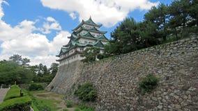 Het Kasteel van Nagoya in Japan stock foto's