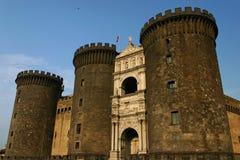 Het kasteel van Napels Royalty-vrije Stock Foto's