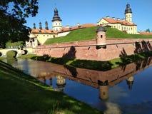 Het kasteel van Nesvizh Stock Afbeeldingen