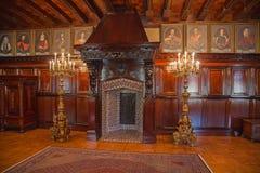 Het kasteel van Nesvizh royalty-vrije stock foto