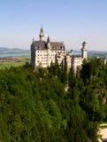 Het kasteel van Neuschwanstein stock afbeeldingen