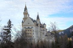 Het Kasteel van Neuschwanstein. Royalty-vrije Stock Foto