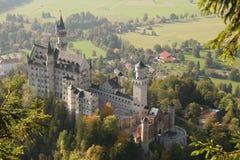 Het kasteel van Neuschwanstein stock foto
