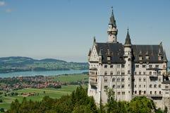 Het kasteel van Neuschwanstein Royalty-vrije Stock Afbeeldingen
