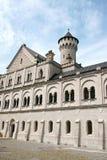 Het Kasteel van Neuschwanstein in Beieren, Duitsland Stock Foto