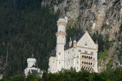 Het Kasteel van Neuschwanstein in Beieren (Duitsland) Stock Foto