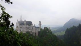 Het Kasteel van Neuschwanstein in Beieren, Duitsland Stock Foto's