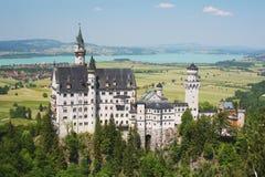 Het Kasteel van Neuschwanstein, Duitsland stock foto