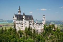 Het kasteel van Neuschwanstein in Duitsland Royalty-vrije Stock Foto's