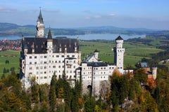Het kasteel van Neuschwanstein, Duitsland Royalty-vrije Stock Afbeeldingen