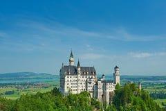 Het kasteel van Neuschwanstein in Duitsland Royalty-vrije Stock Afbeeldingen
