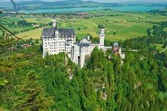 Het kasteel van Neuschwanstein in Duitsland Royalty-vrije Stock Fotografie