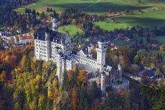 Het kasteel van Neuschwanstein, Duitsland royalty-vrije stock afbeelding