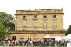 Het kasteel van Nottingham Stock Foto's