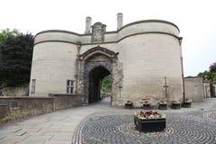 Het Kasteel van Nottingham stock afbeeldingen