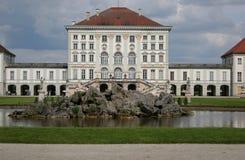 Het kasteel van Nymphenbur, München Royalty-vrije Stock Afbeeldingen