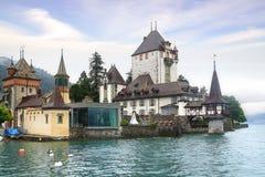 Het kasteel van Oberhofen Stock Fotografie