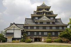Het kasteel van Okayama stock foto