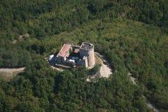 Het kasteel van Oramala Stock Afbeeldingen