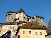 Het kasteel van Orava Stock Afbeelding